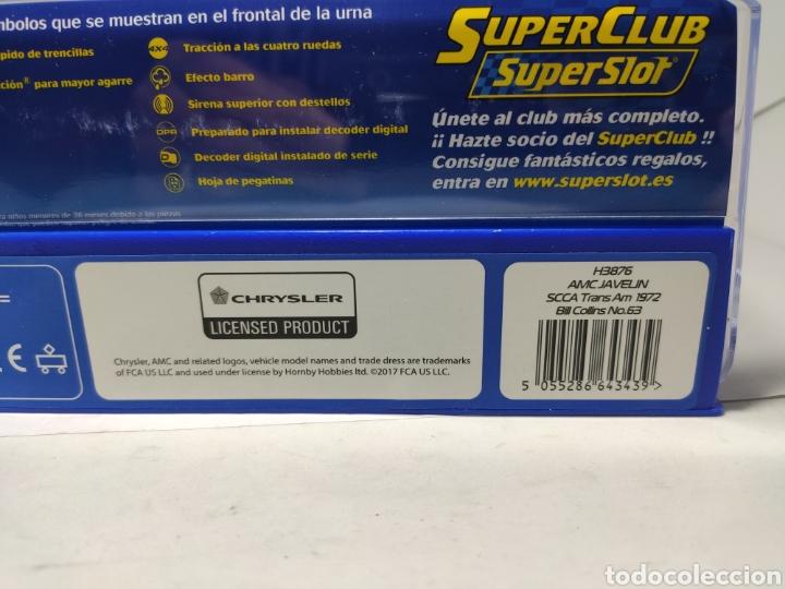 Scalextric: SUPERSLOT AMC JAVELIN SCCA TRANS AM 1972 N°63 REF. H3876 - Foto 4 - 245288560