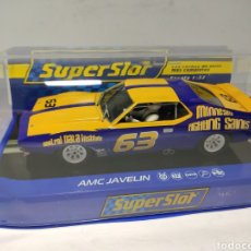 Scalextric: SUPERSLOT AMC JAVELIN SCCA TRANS AM 1972 N°63 REF. H3876. Lote 245104315