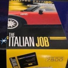 Scalextric: SCALEXTRIC MINI COOPER S DE ITALIAN JOB LIMITED EDITION DE COLOR ROJO, EDICIÓN 7500 UNIDADES. Lote 230491695