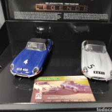 Scalextric: SCALEXTRIC UK 1961 JAGUAR E TYPE FIRST RACE WIN REF. C4062A SUPERSLOT. Lote 231546355