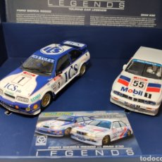 Scalextric: SCALEXTRIC UK FORD SIERRA RS500 VS BMW E30 LIMITED EDITION SUPERSLOT REF. C3693A. Lote 231584655