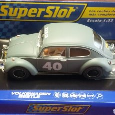 Scalextric: VOLKSWAGEN BEETLE SCALEXTRIC SUPERSLOT H3642. Lote 234324780