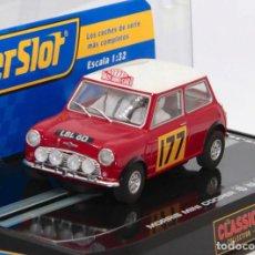 Scalextric: MINI COOPER 1º RALLYE DE MONTECARLO 1967 (SCALEXTRIC SUPERSLOT). Lote 235096500