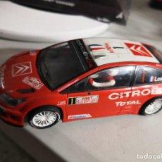 Scalextric: CITROEN C4 WRC SCALEXTRIC LOEB WRC SCX. Lote 237405900