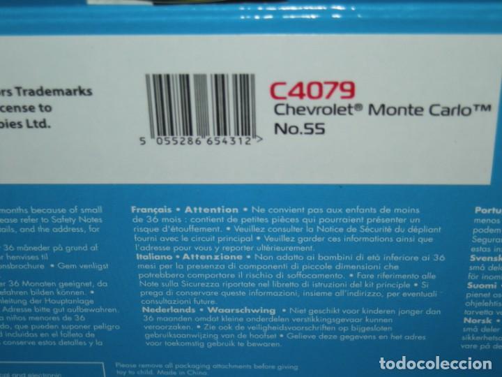 Scalextric: CHEVROLET MONTECARLO SUPERSLOT/SCALEXTRIC UK NUEVO EN CAJA - Foto 4 - 238188225
