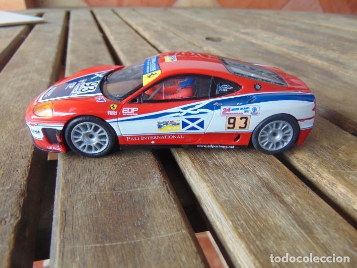 Scalextric: COCHE DE PISTA, FERRARI 360 GTC DE SCALEXTRIC SCK - Foto 2 - 240422575