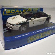Scalextric: ALFA ROMEO 159 GUARDIA CIVIL DE TRÁFICO SUPERSLOT NUEVO. Lote 241597825