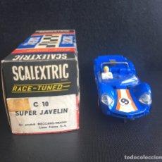 Scalextric: SCALEXTRIC SUPER JAVELIN C 3-10 CON CAJA.. Lote 241775740