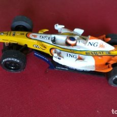 Scalextric: COCHE SCALEXTRIC RENAULT ING SCX, FERNANDO ALONSO. Lote 244848080