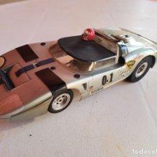 Scalextric: 1:24 COCHE DE PISTA SLOT PACTRA FORD GT ROADSTER RARO 1960`S. Lote 245111805