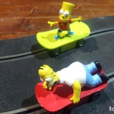 Scalextric: SCALEXTRIC MICRO HOMER &BART SIMPSON. Lote 246223020