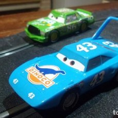 Scalextric: SCALEXTRIC CARRERA GO THE KING Y CHICK HICKS. Lote 246226660