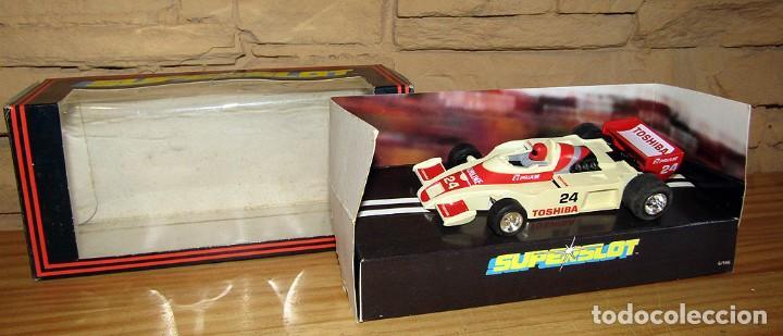 SUPERSLOT - TOSHIBA INDY - REF C.056 - NUEVO A ESTRENAR (Juguetes - Slot Cars - Scalextric SCX (UK))
