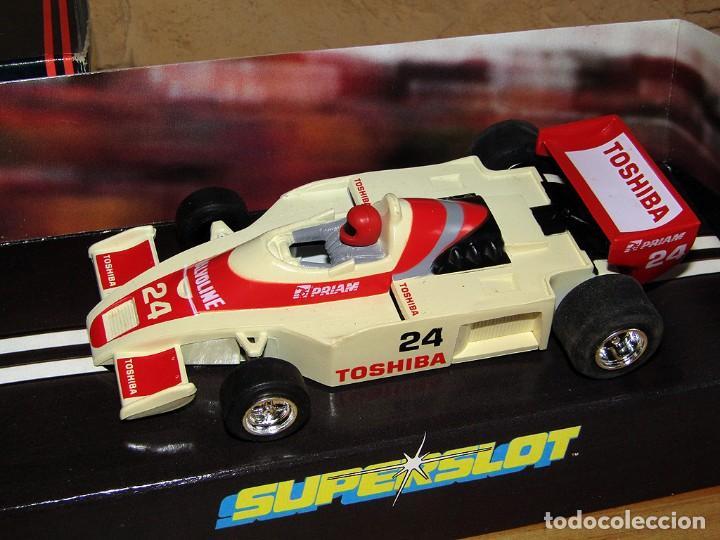 Scalextric: SUPERSLOT - TOSHIBA INDY - REF C.056 - NUEVO A ESTRENAR - Foto 2 - 247733770