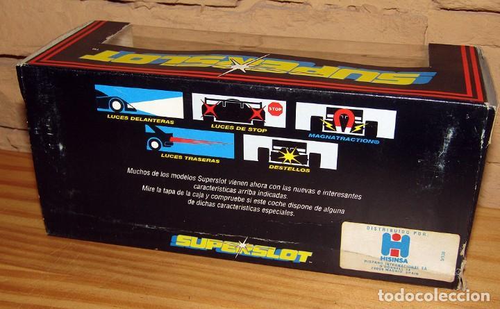 Scalextric: SUPERSLOT - TOSHIBA INDY - REF C.056 - NUEVO A ESTRENAR - Foto 9 - 247733770