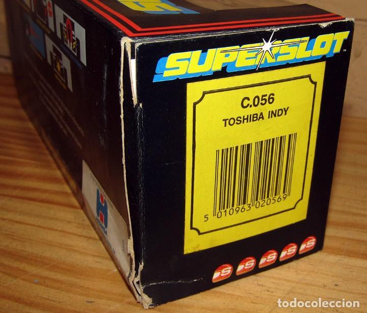 Scalextric: SUPERSLOT - TOSHIBA INDY - REF C.056 - NUEVO A ESTRENAR - Foto 10 - 247733770