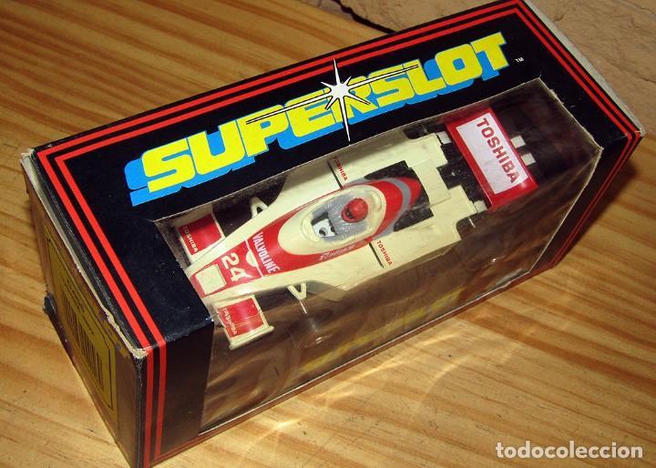 Scalextric: SUPERSLOT - TOSHIBA INDY - REF C.056 - NUEVO A ESTRENAR - Foto 11 - 247733770