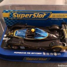 Scalextric: SUPER SLOT PORSCHE RSSPYDER. Lote 257419090