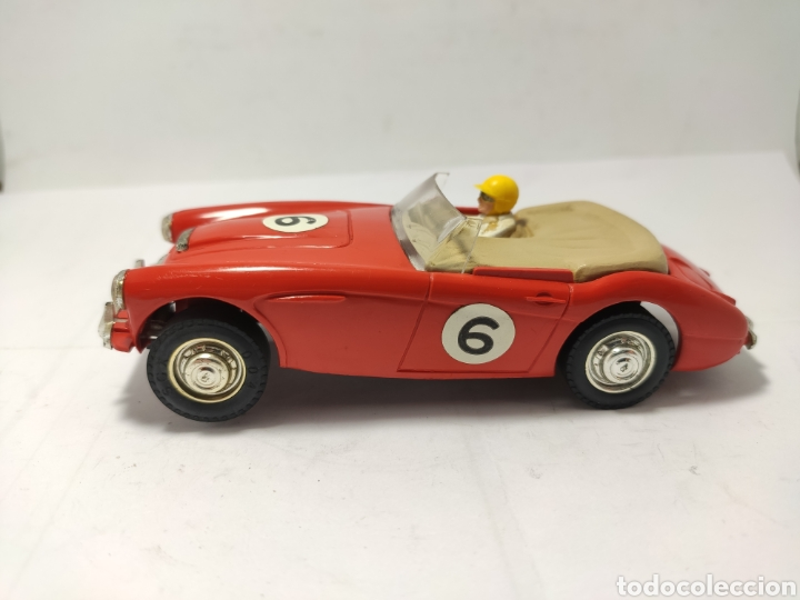 SCALEXTRIC AUSTIN HEALEY 3000 TRIANG ROJO MADE IN ENGLAND (Juguetes - Slot Cars - Scalextric SCX (UK))