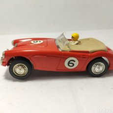 Scalextric: SCALEXTRIC AUSTIN HEALEY 3000 TRIANG ROJO MADE IN ENGLAND. Lote 257695810