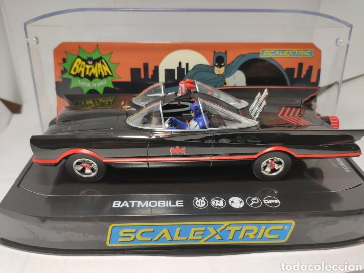 SCALEXTRIC UK BATMOBILE 1966 TV SERIES REF. C4175 SUPERSLOT (Juguetes - Slot Cars - Scalextric SCX (UK))