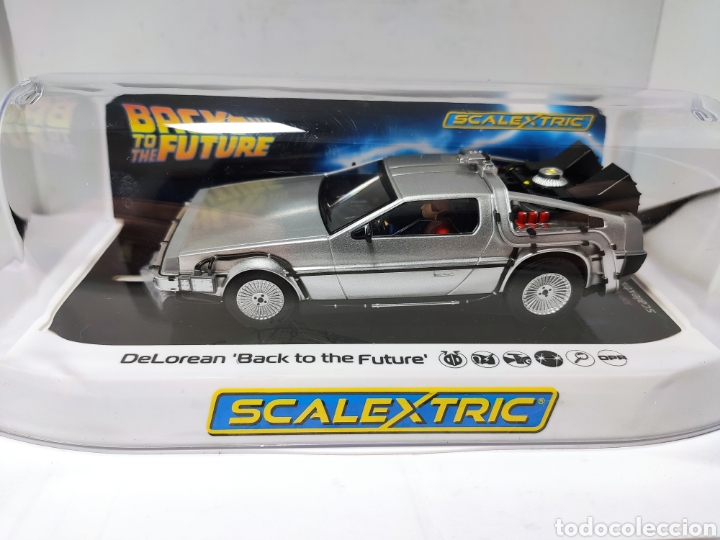 SCALEXTRIC UK DELOREAN BACK TO THE FUTURE REF. C4117 SUPERSLOT (Juguetes - Slot Cars - Scalextric SCX (UK))