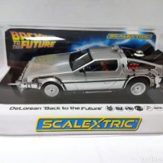 Scalextric: SCALEXTRIC UK DELOREAN BACK TO THE FUTURE REF. C4117 SUPERSLOT. Lote 261241965
