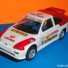 Scalextric: FORD ESCORT COSWORTH REPSOL. HORNBY. Lote 261976100