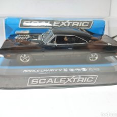 Scalextric: SCALEXTRIC UK DODGE CHARGER BLACK REF. C3936. Lote 262509065