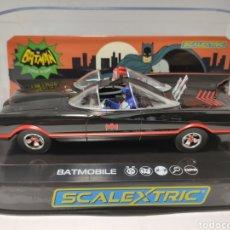 Scalextric: SCALEXTRIC UK BATMOBILE 1966 TV SERIES REF. C4175 SUPERSLOT. Lote 264709639