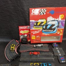 Scalextric: SCALEXTRIC CON 4 COCHES. JUG.. Lote 269609818