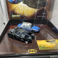 Scalextric: SCALEXTRIC UK PACK BATMAN TWIN PACK SUPERSLOT EDICIÓN LIMITADA. Lote 269941383