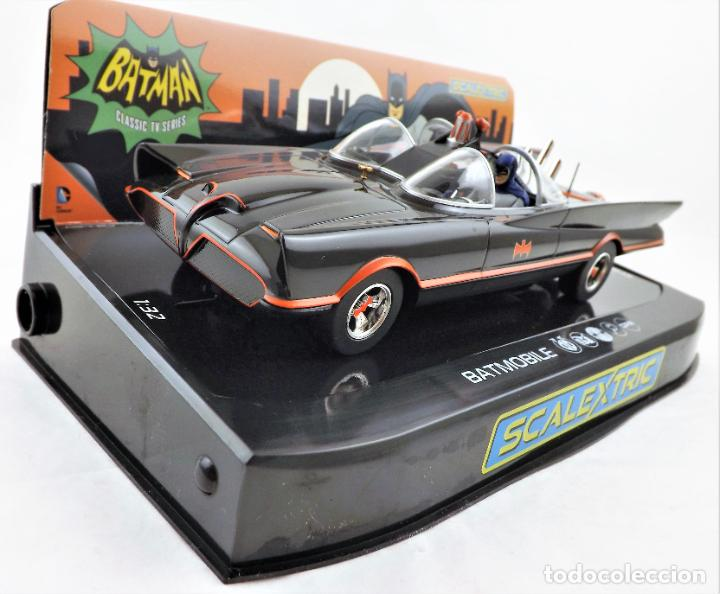 Scalextric: Scalextric Club (Hornby) DC Comics Batmobile Slot 1:32 - Foto 2 - 270119208