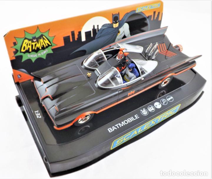 Scalextric: Scalextric Club (Hornby) DC Comics Batmobile Slot 1:32 - Foto 3 - 270119208