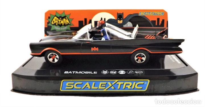 Scalextric: Scalextric Club (Hornby) DC Comics Batmobile Slot 1:32 - Foto 4 - 270119208