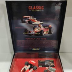 Scalextric: LIMITED EDITION SUPERSLOT/SCALEXTRIC 1976 HUNT & NIKI LAUDA REF: H2558A-C2558A (ENVÍO GRATIS ESPAÑA). Lote 273023658