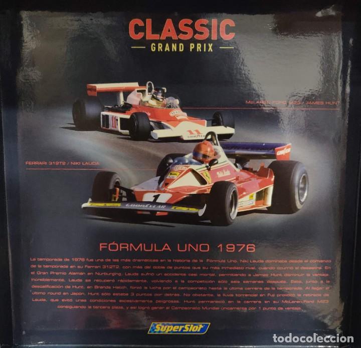 Scalextric: Limited Edition Superslot/Scalextric 1976 Hunt & Niki Lauda REF: H2558A-C2558A (Envío Gratis España) - Foto 2 - 273023658