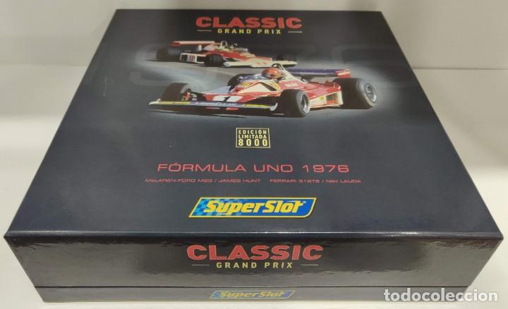 Scalextric: Limited Edition Superslot/Scalextric 1976 Hunt & Niki Lauda REF: H2558A-C2558A (Envío Gratis España) - Foto 6 - 273023658
