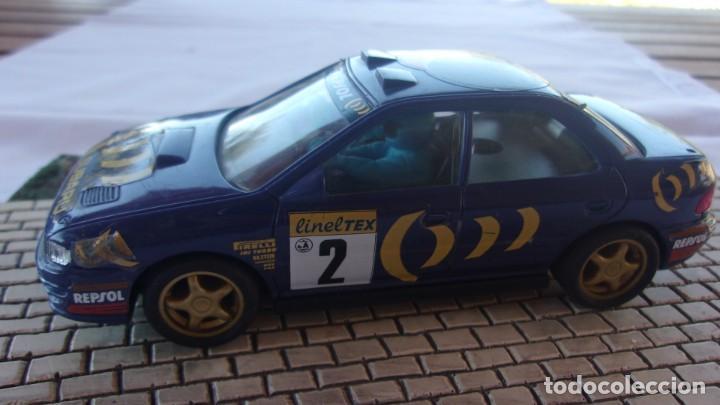 SCALEXTRIC SUBARU REPSOL (Juguetes - Slot Cars - Scalextric SCX (UK))
