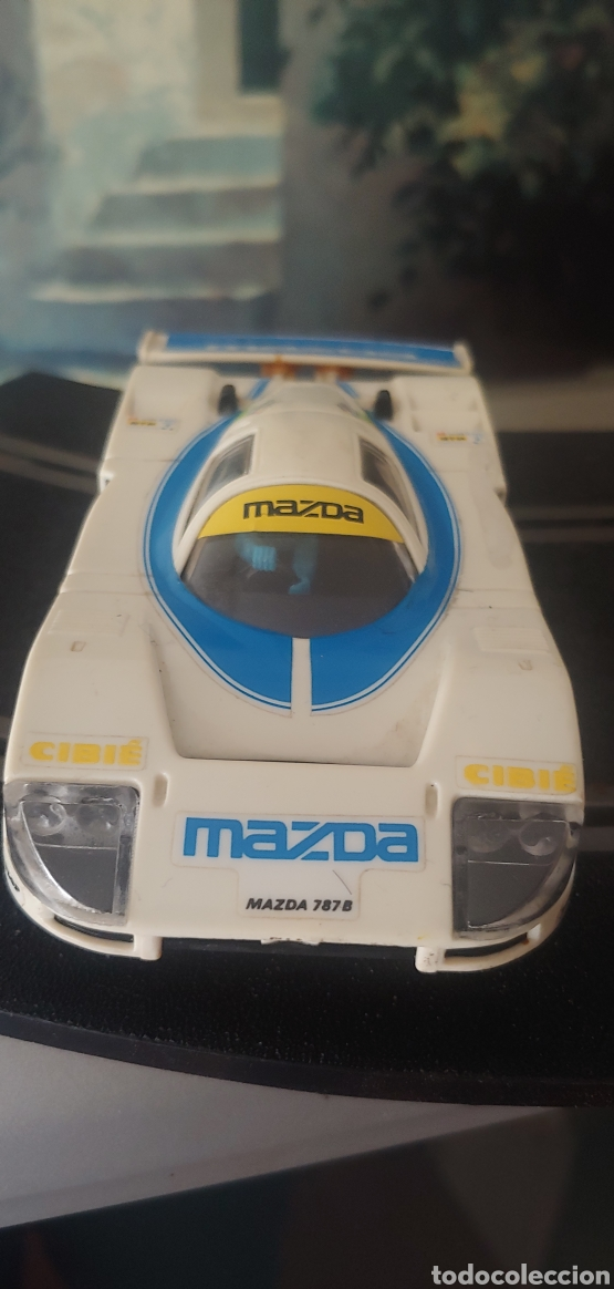 Scalextric: Mazda 787b scx scalextric exin srs ref 9316. No paya rico - Foto 2 - 277609828
