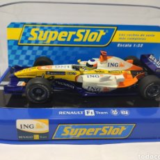 Scalextric: SUPERSLOT RENAULT F1 2008 N°5 FERNANDO ALONSO REF. H2863. Lote 281866668