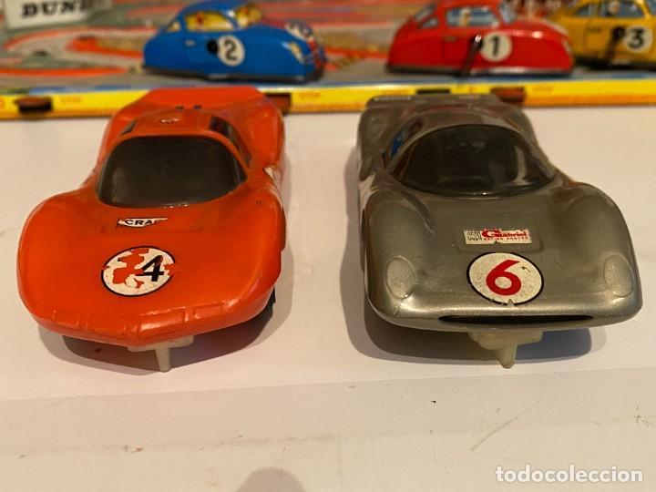 Scalextric: SLOT CARS DOS CREO QUE CARROS DE CARRERAS FABRICADOS POR ELDON USA (no Scalextric) - Foto 3 - 285697808