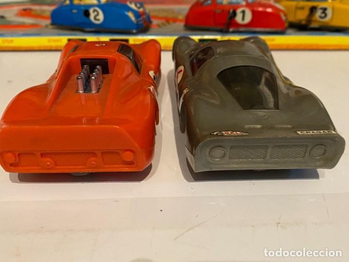 Scalextric: SLOT CARS DOS CREO QUE CARROS DE CARRERAS FABRICADOS POR ELDON USA (no Scalextric) - Foto 4 - 285697808
