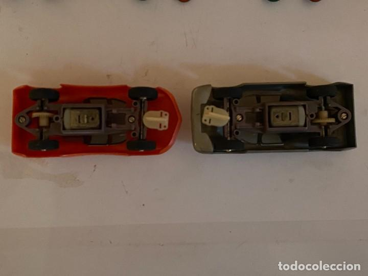 Scalextric: SLOT CARS DOS CREO QUE CARROS DE CARRERAS FABRICADOS POR ELDON USA (no Scalextric) - Foto 5 - 285697808