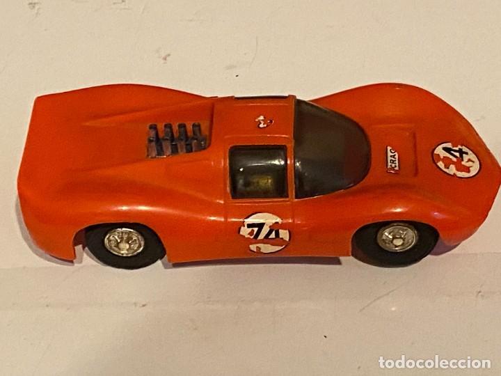Scalextric: SLOT CARS DOS CREO QUE CARROS DE CARRERAS FABRICADOS POR ELDON USA (no Scalextric) - Foto 6 - 285697808