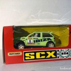 Scalextric: SEAT IBIZA REPSOL VERDE N6 SCALEXTRIC MATCHBOX SCX. Lote 288085318