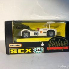 Scalextric: CHAPARRAL GT VINTAGE BLANCO N66 SCALEXTRIC VINTAGE MATCHBOX SCX. Lote 288086088