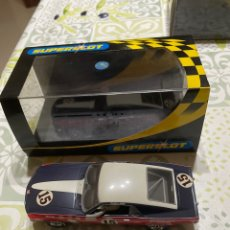 Scalextric: FORD MUSTANG 1969 N 15 DE SUPERSLOT, NUEVO. Lote 288547693