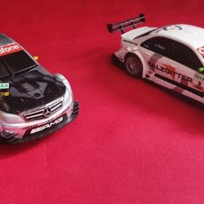 Scalextric: LOTE DE 2 COCHE MERCEDES BENZ CHINA SCALEXTRIC COMPACT. Lote 289482958
