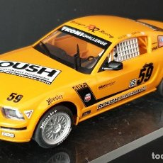 Scalextric: SCALEXTRIC INGLES HORNBY FORD MUSTANG FALTA RETRO DERECHO. Lote 289595908